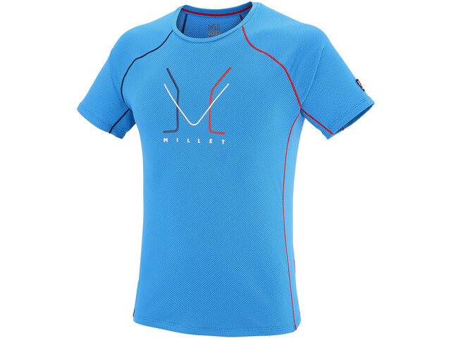 Millet Trilogy Delta Logo Short Sleeve Shirt Herr light sky